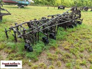 John Deere complete front mount 38?? 4 row cultiva