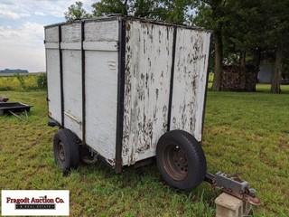 2 wheeled enclosed trailer