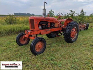1953 Allis-Chalmers WD-45, wide front, pto, good r