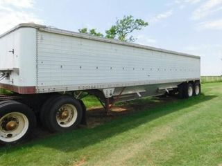 1980 Timpte 38IJ hopper bottom grain trailer