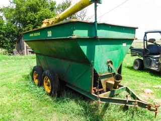 John Deere 310 feed wagon with auger  540 pto