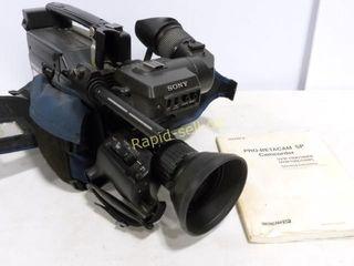 Sony Pro-Betacam SP Camcorder