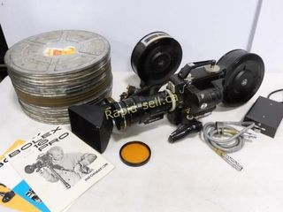 Bolex 16 Pro 100 16 mm Motion Picture Camera