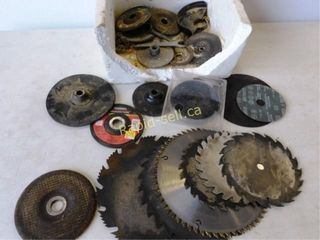 Variety of Angle Grinder Plates, Saw Blades