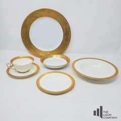 Bavaria and Royal Worcester Gold Accented China