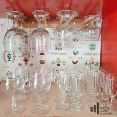 Various Sized Beverage Glasses