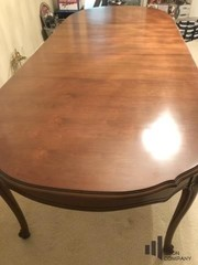 Scroll Foot Dining Room Table