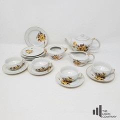 Yellow Rose China Pieces