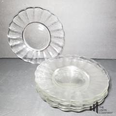 Flower - like Glass Plates