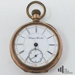 Hampton Watch Co. Pocket Watch