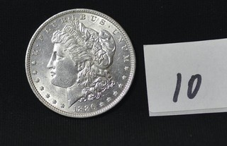 1886 Morgan Silver Dollar - No Mint Mark