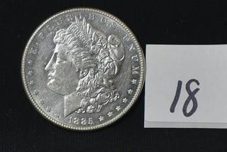 1885 Morgan Silver Dollar - No Mint Mark
