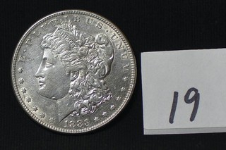 1883 Morgan Silver Dollar - No Mint Mark