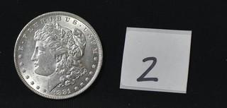 1881 Morgan Silver Dollar - No Mint Mark