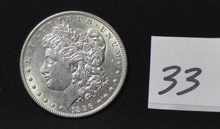 1896 Morgan Silver Dollar - No Mint Mark
