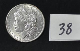 1889 Morgan Silver Dollar - No Mint Mark