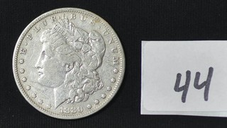 1880 Morgan Silver Dollar - No Mint mark
