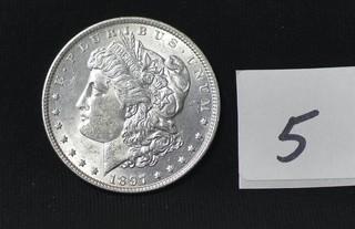 1897 Morgan Silver Dollar - No Mint Mark