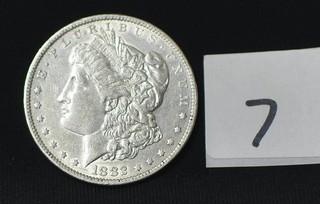 1882 Morgan Silver Dollar - No Mint Mark