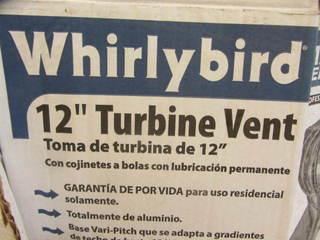 Whirlybird Turbine Vent