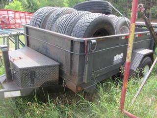 2001 Single Axle Dump Trailer