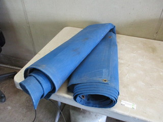 Screen Divider Tarp
