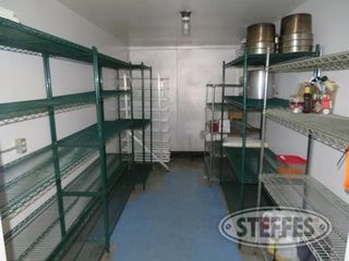 Contents of cooler steel shelving working supplies 0 JPG