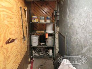 Contents of storage area misc baskets pots racks fan 0 JPG