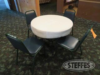 Round table 3 4 chairs 0 JPG
