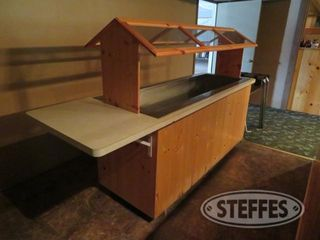 Salad bar 8 w table serving stand 0 JPG