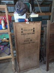 Servel Crate & Contents, Grill, Toys, Coolers