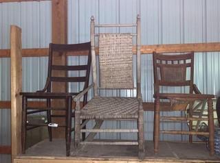 2 Chairs & Rocker