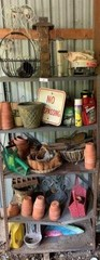 Shelf of Garden Supplies