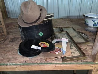 45 RPM Records, Hats, Pictures