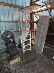 Scrap Metal, Pool Ladder, Door