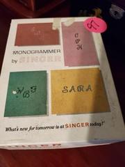 MONOGRAMMER -- BY SINGER