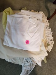 COLLECTION OF MISC. LINENS