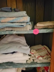 MISC. CLOSET - TOWELS AND MORE