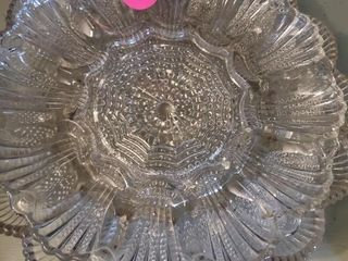 NICE GLASS EGG PLATES