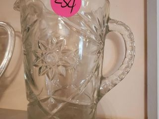 NICE GLASS PITCHER