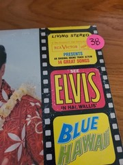 ELVIS PRESLEY = BLUE HAWAII ALBUM