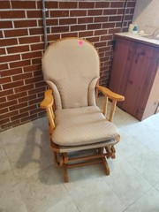 NICE CLOTH SEAT GLIDER / ROCKER