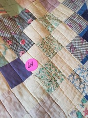 NICE SQUARE PATCHED QUILT