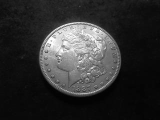 1887 S Morgan Silver Dollar