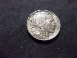 1913 Buffalo Nickel Type 1