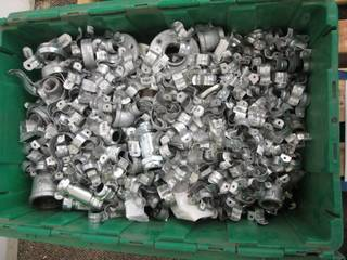 Huge Lot of Galvanized Elbows, Plug...