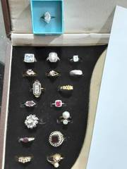 18-Assorted Rings