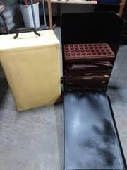 Rolling Jewelry Case With Trays 10x16x28