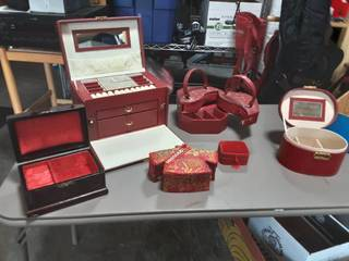 Lot Of Assorted Jewelry Boxes
