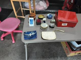 Lot Of Jewelry, Trinket, Ring Boxes & Bags